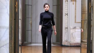 NEW YORK, NY - FEBRUARY 11:  Designer  Victoria Beckham walks the runway at Victoria Beckham - fashion show February 2018 during New York Fashion Week on February 11, 2018 in New York City.  (Photo by JP Yim/Getty Images)