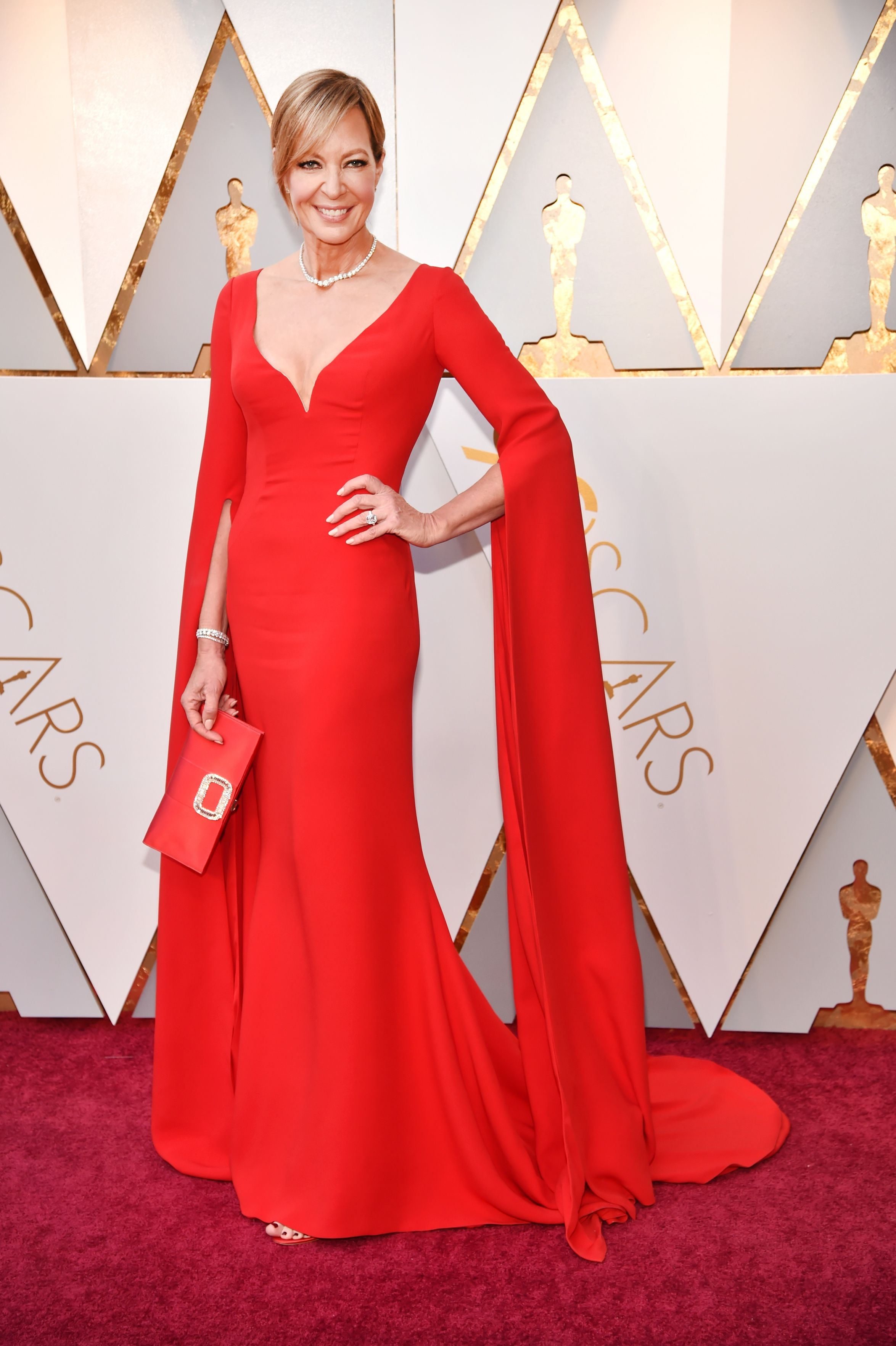 HOLLYWOOD, CA - MARCH 04: Allison Janney attends the 90th Annual Academy Awards at Hollywood & Highland Center on March 4, 2018 in Hollywood, California. (Photo by Kevin Mazur/WireImage)