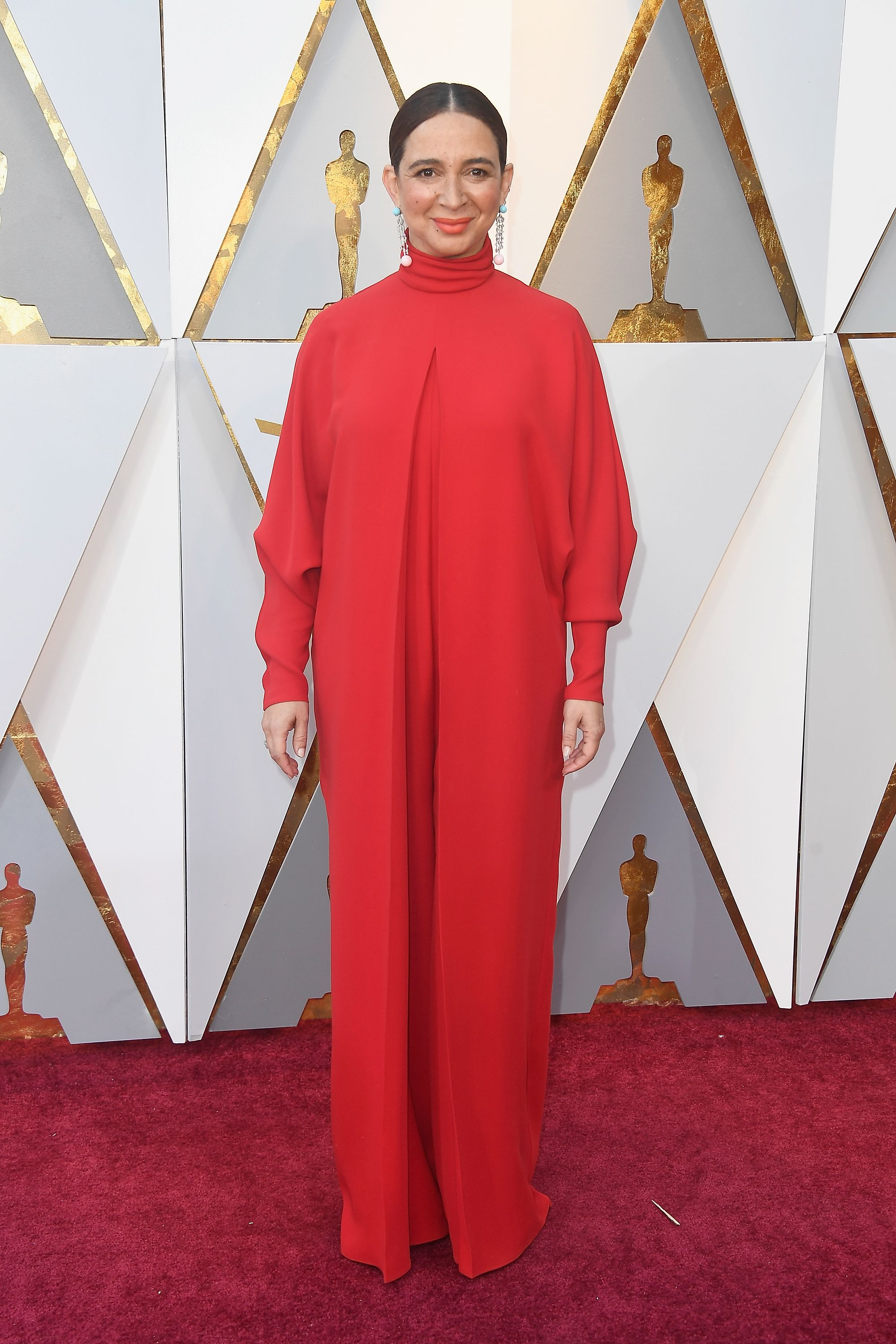 HOLLYWOOD, CA - MARCH 04: Maya Rudolph attends the 90th Annual Academy Awards at Hollywood & Highland Center on March 4, 2018 in Hollywood, California. (Photo by Frazer Harrison/Getty Images)