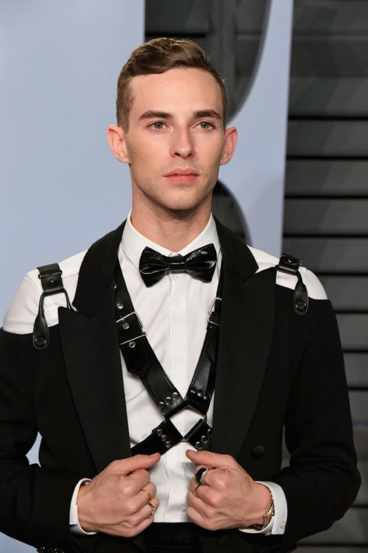 BEVERLY HILLS, CA - MARCH 04:  Adam Rippon attends the 2018 Vanity Fair Oscar Party hosted by Radhika Jones at Wallis Annenberg Center for the Performing Arts on March 4, 2018 in Beverly Hills, California.  (Photo by Jon Kopaloff/WireImage)