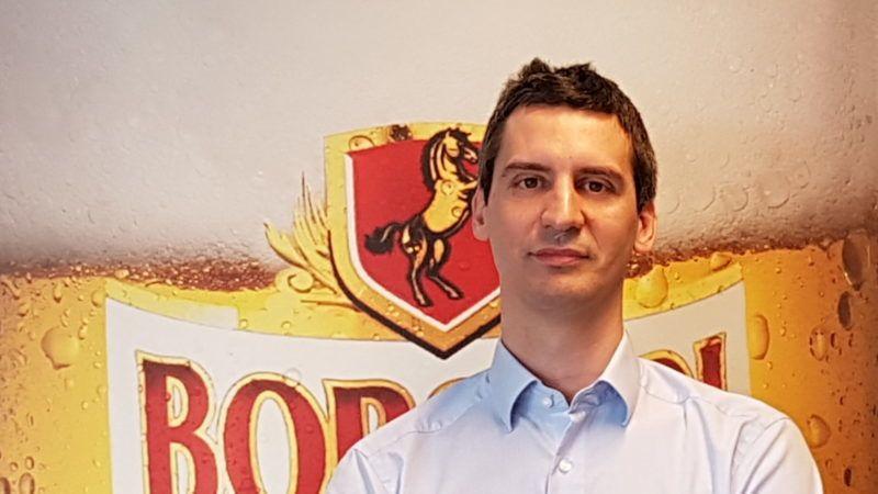 Juhász Péter Tibor, a Borsodi marketingiazgatója