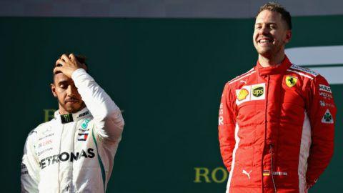 Lewis Hamiltont meglopták Ausztráliában