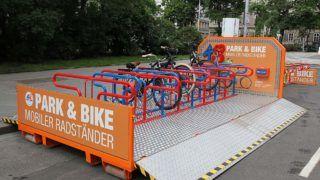 Mobiler Fahrradständer