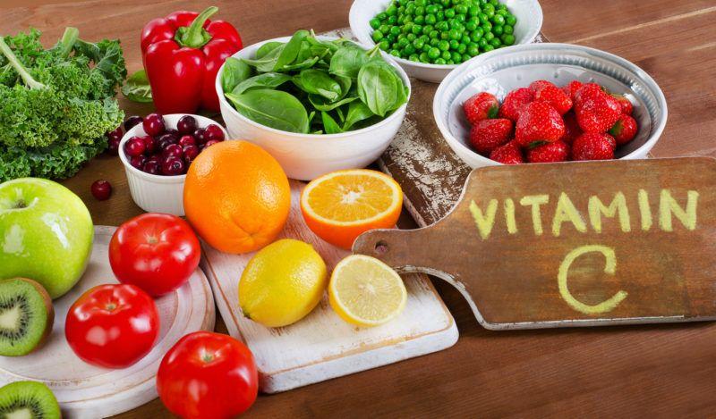 Foods Highest in Vitamin C.