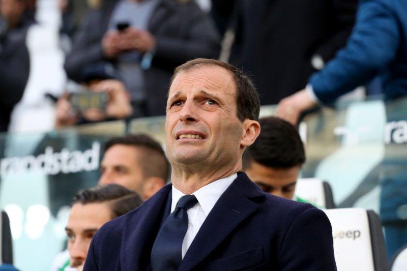 Massimiliano Allegri, head coach of Juventus FC, before the Serie A football match between Juventus FC and Atalanta BC at Allianz Stadium on 14 March, 2018 in Turin, Italy. Juventus won 2-0 over Atalanta. (Photo by Massimiliano Ferraro/NurPhoto)