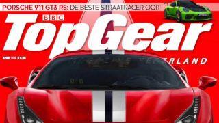 A BBC TopGear holland kiadásának borítórészlete
