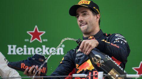 Ricciardo megkönnyezte a futamgyőzelmet