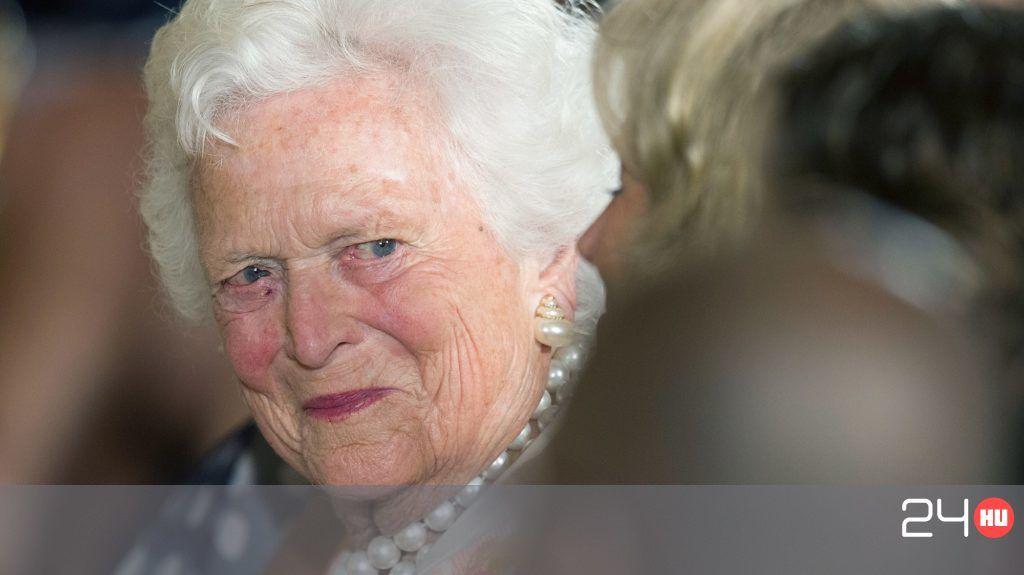 Kritikus állapotban Barbara Bush
