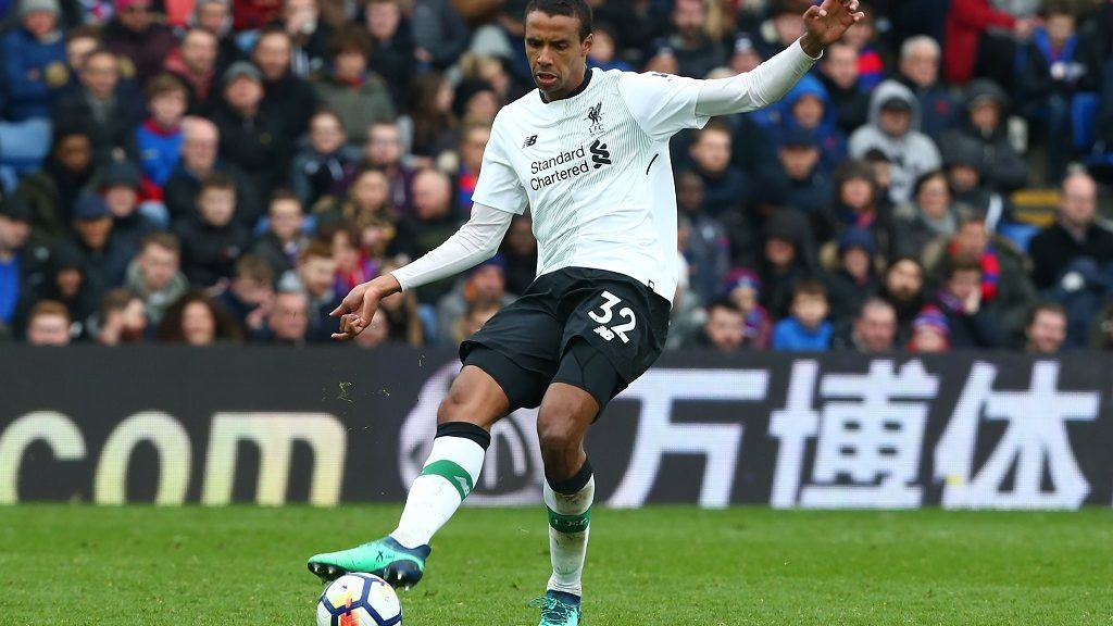 Liverpool's Joel Matip during the Premiership League  match between Crystal Palace and Liverpool at Wembley, London, England on 31 March 2018.    (Photo by Kieran Galvin/NurPhoto)