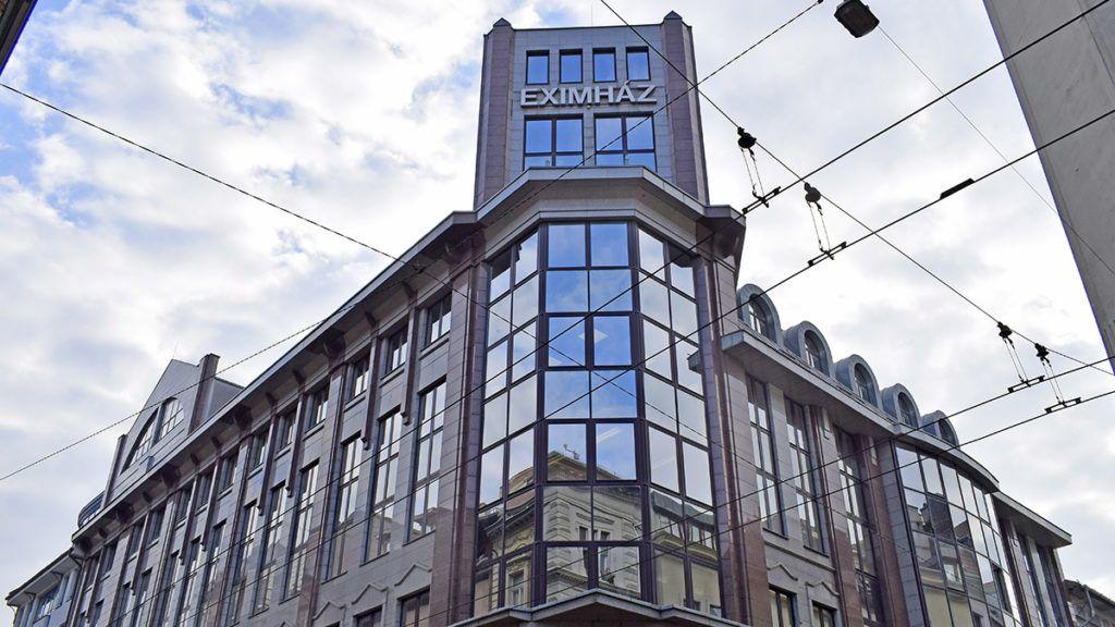 Budapest, 2016. november 26. Az EXIMHÁZ, az Eximbank épülete a VI. kerület, Nagymező utca 46-48-ban. MTVA/Bizományosi: Róka László  *************************** Kedves Felhasználó! Ez a fotó nem a Duna Médiaszolgáltató Zrt./MTI által készített és kiadott fényképfelvétel, így harmadik személy által támasztott bárminemű – különösen szerzői jogi, szomszédos jogi és személyiségi jogi – igényért a fotó készítője közvetlenül maga áll helyt, az MTVA felelőssége e körben kizárt.