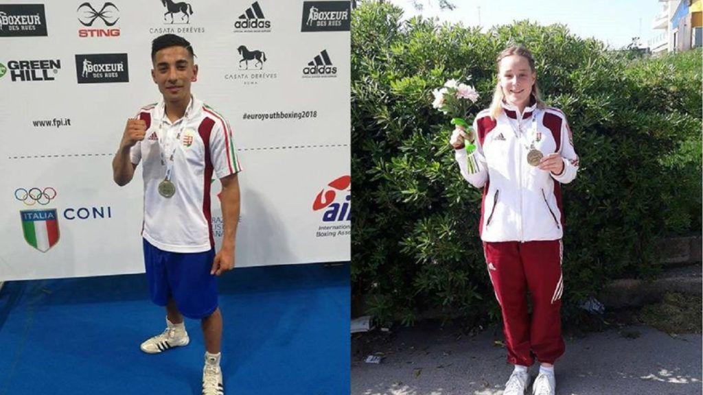 Egy arany- és egy bronzérmet szállítottak ifjúsági bokszolóink az Eb-ről