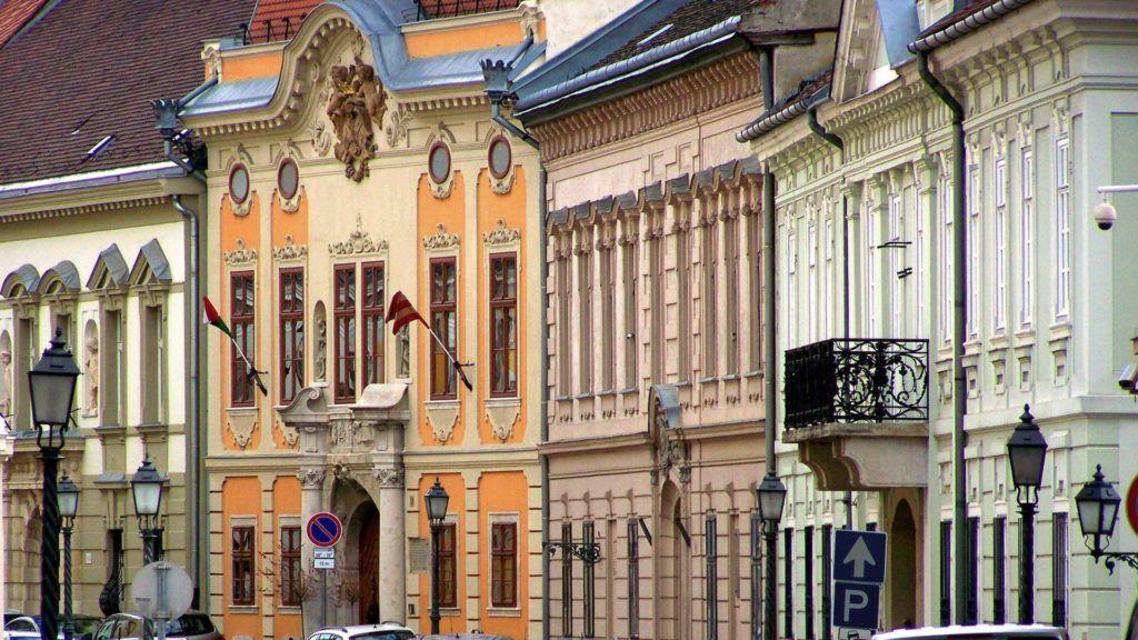 Városkép - Budapest - Az Úri utca a budai Várban