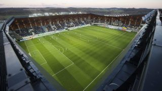 Felcsút, 2015. április 3.Az OTP Bank Liga 22. fordulójában játszott Puskás Akadémia - Ferencváros labdarúgó-mérkőzés a felcsúti Pancho Arénában 2015. április 3-án.MTI Fotó: Illyés Tibor