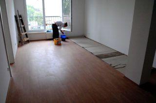 Budapest, 2010. szeptember 22.Egy elkészült lakás egyik szobája. Az otthonteremtési program keretében a XIII. kerület, Zsinór utcában 70 lakásos bérházat épít a kerület. Az átlagban 53 négyzetméteres lakásokhoz garázs, illetbe kocsibeálló is tartozik. A lakásokat várhatóan november végén vehetik birtokukba a lakók.MTI Fotó: Balaton József