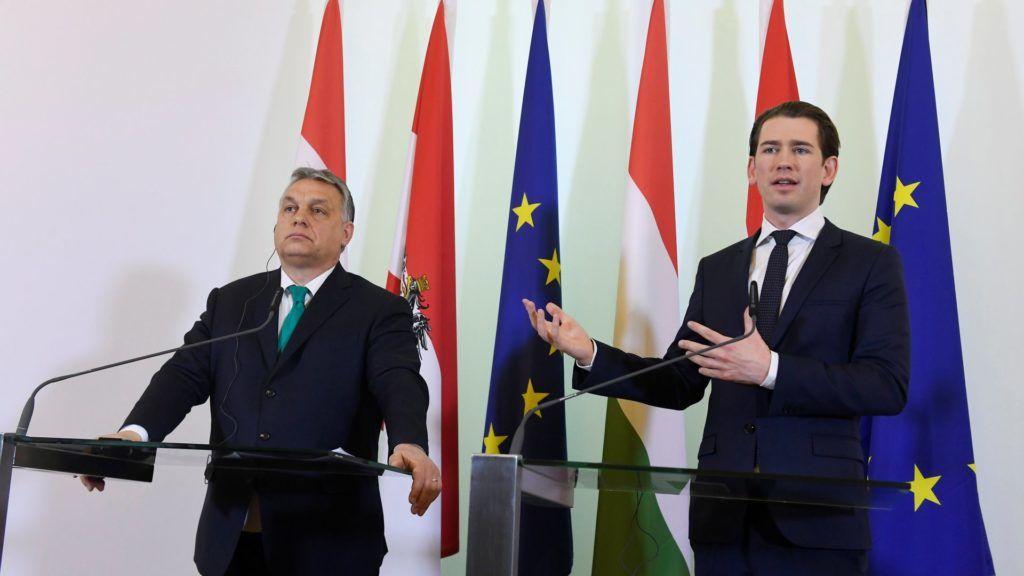 Orbán Viktor Bécsben