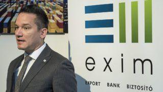 Debrecen, 2015. február 5.Puskás András, az Eximbank üzleti vezérigazgató-helyettese a bank észak-alföldi képviseletének avatásán Debrecenben 2015. február 5-én.MTI Fotó: Czeglédi Zsolt