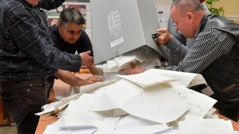 Választás 2018 - Urnabontás Debrecenben