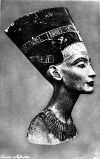 NEFERTITI királyné mellszobra.MTI/KÜ