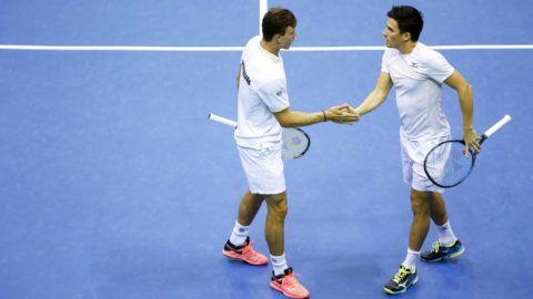 Hazai pályán maradhat bent a világelitben a magyar teniszválogatott