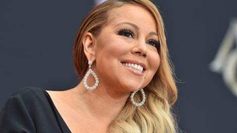 HOLLYWOOD, CA - NOVEMBER 01:  Mariah Carey is honored with Hand and Footprint Ceremony at TCL Chinese Theatre on November 1, 2017 in Hollywood, California.  (Photo by Axelle/Bauer-Griffin/FilmMagic)