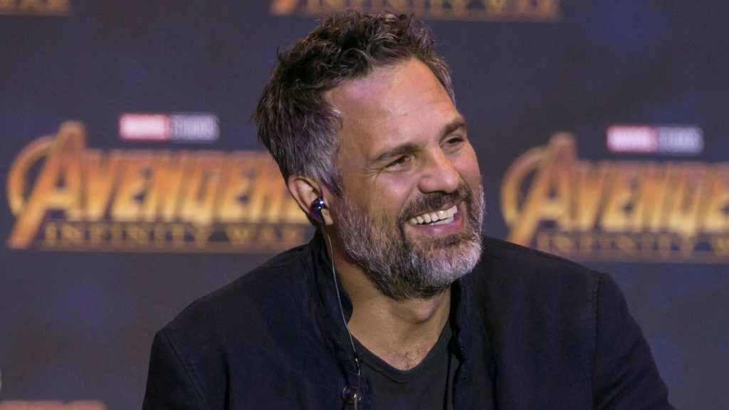Actor Mark Ruffalo (starring as Hulk)  is seen  speaking during press conference of  Avengers: Infinity War at Four Season Hotel on April 05, 2018 in Mexico City, Mexico (Photo by Carlos Tischler/NurPhoto via Getty Images)
