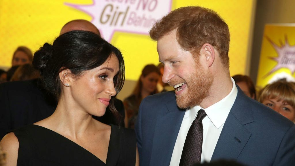 LONDON, ENGLAND - APRIL 19:  Meghan Markle and Prince Harry attend the Women's Empowerment reception hosted by Foreign Secretary Boris Johnson during the Commonwealth Heads of Government Meeting at the Royal Aeronautical Society on April 19, 2018 in London, England.  (Photo by Chris Jackson - WPA Pool/Getty Images)