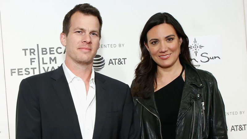 """NEW YORK, NY - APRIL 19:  Creators Jonathan Nolan and Lisa Joy attend """"Westworld"""" during the 2018 Tribeca Film Festival  at BMCC Tribeca PAC on April 19, 2018 in New York City.  (Photo by John Lamparski/WireImage)"""