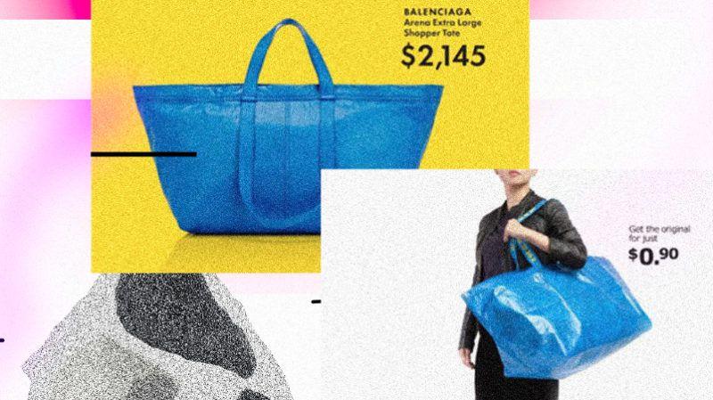 Az IKEA ügyesen kezelte, hogy leutánozták a táskáját