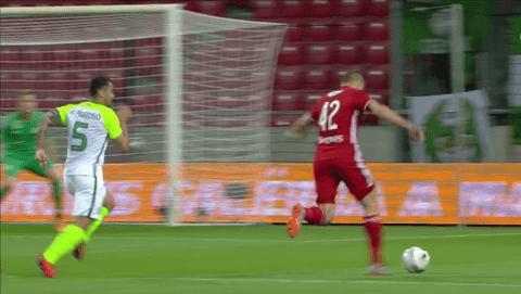 Mindhárom kapufát érintve lőtt gólt a magyar csatár