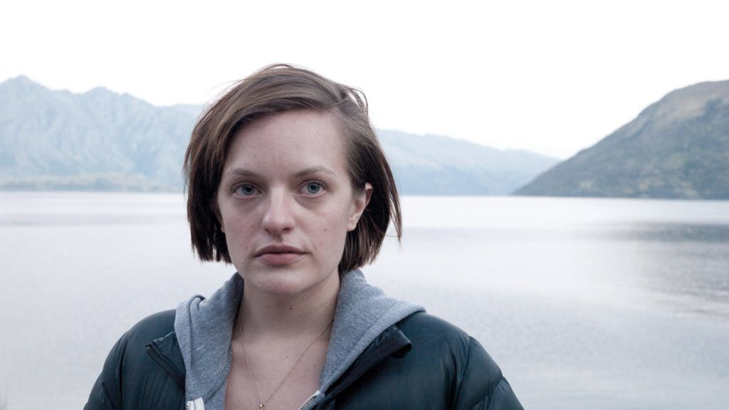 Top of the Lake (Mini-Series) Year : 2013  Australia / UK Director : Jane Campion Elisabeth Moss. It is forbidden to reproduce the photograph out of context of the promotion of the film. It must be credited to the Film Company and/or the photographer assigned by or authorized by/allowed on the set by the Film Company. Restricted to Editorial Use. Photo12 does not grant publicity rights of the persons represented.