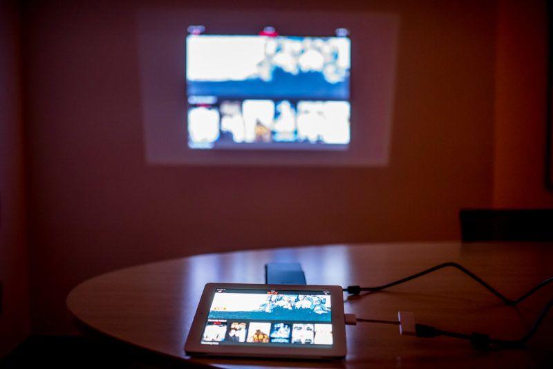 ipad csatlakoztatható a projektorhoz
