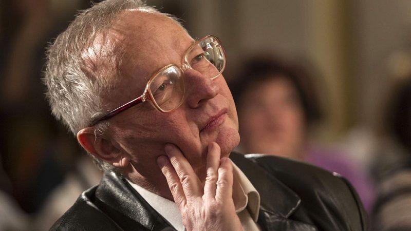 Budapest, 2016. április 5.Spiró György író a 70. születésnapján tartott köszöntésén a Petőfi Irodalmi Múzeumban 2016. április 5-én.MTI Fotó: Szigetváry Zsolt
