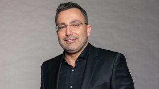 Sváby András műsorvezető. Fotó: ATV