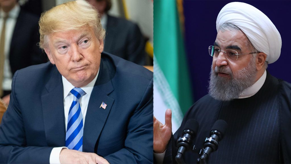 """A handout picture provided by the office of Iranian President Hassan Rouhani shows him speaking at a conference in the capital Tehran, on January 28, 2017.Rouhani criticised his US counterpart Donald Trump in his speech, saying now was """"not the time to build walls between nations"""". His remarks came after Trump ordered construction of a wall along the US-Mexico border and imposed tough new controls on travellers from seven Muslim countries, among them Iran. / AFP PHOTO / IRANIAN PRESIDENCY / HO / == RESTRICTED TO EDITORIAL USE - MANDATORY CREDIT """"AFP PHOTO / HO / IRANIAN PRESIDENCY"""" - NO MARKETING NO ADVERTISING CAMPAIGNS - DISTRIBUTED AS A SERVICE TO CLIENTS =="""