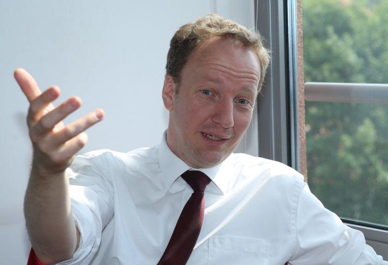 BRUSSELS, BELGIUM - JUNE 16:  Guntram B. Wolff, director of the European think tank Bruegel speaks during an exclusive interview in Brussels, Belgium on June 16, 2017. Dursun Aydemir / Anadolu Agency