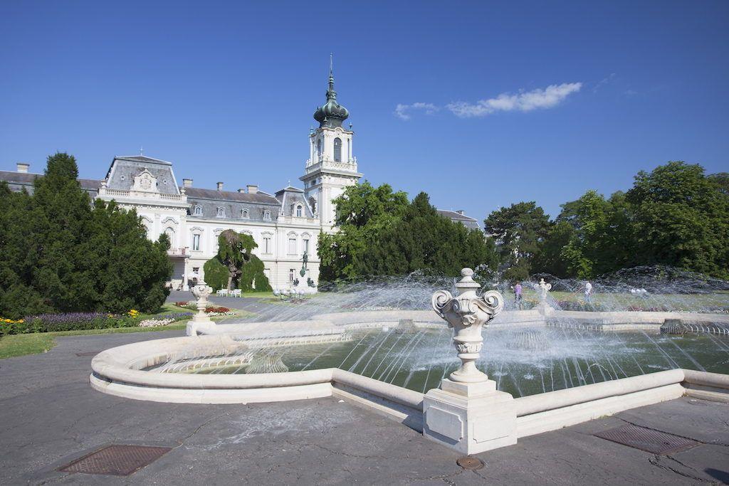 Festetics Palace, Keszthely, Lake Balaton, Hungary, Europe