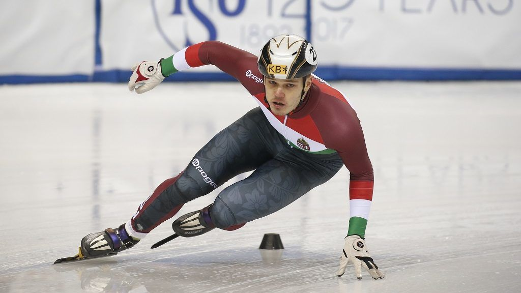 Viktor Knoch (HUN) -  at ISU European Short Track Speed Skating Championships 2017 held in Turin, Italy, on 13 January 2017. The short track competition come back in the olympic location 10 years later after Torino 2006 Winter Olympic Games. (Photo by Mauro Ujetto/NurPhoto)