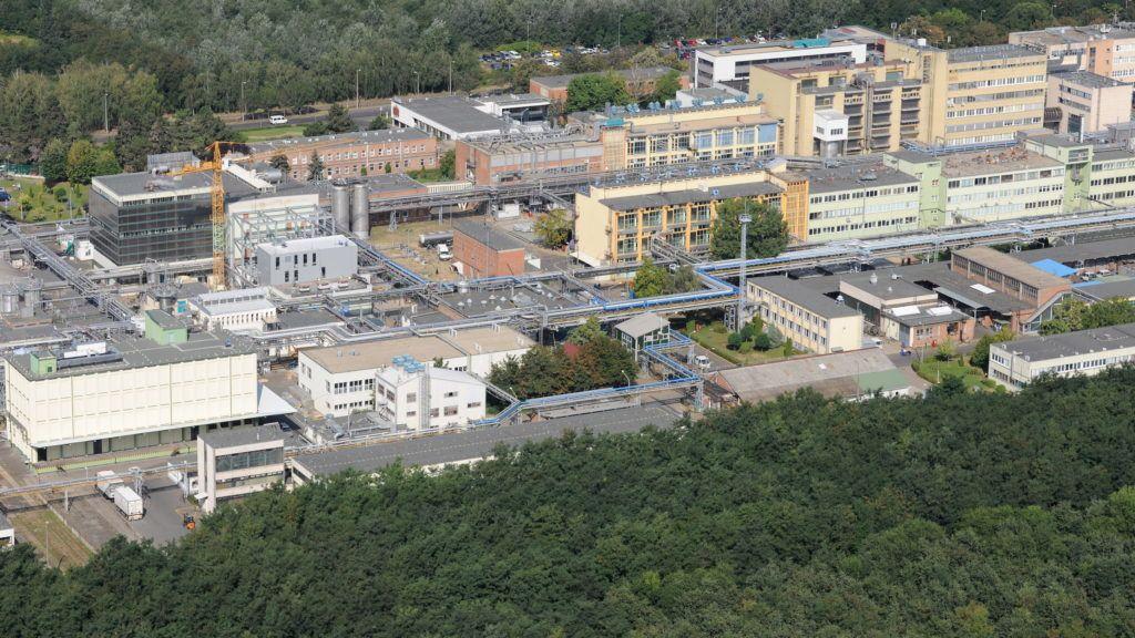 Debrecen, 2012. augusztus 22. A TEVA Gyógyszergyár Zrt. látképe. MTVA/Bizományosi: Oláh Tibor  *************************** Kedves Felhasználó! Az Ön által most kiválasztott fénykép nem képezi az MTI fotókiadásának, valamint az MTVA fotóarchívumának szerves részét. A kép tartalmáért és a szövegért a fotó készítõje vállalja a felelõsséget.