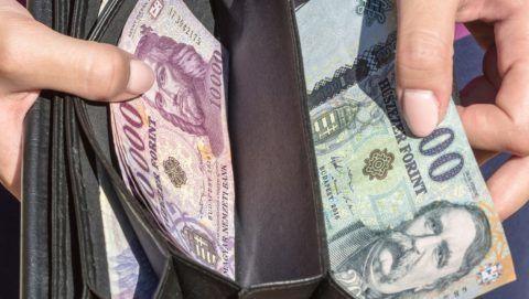 Budapest, 2016. szeptember 10. Tízezer és húszezer forintos bankjegyek egy pénztárcában. Magyarország ma is hivatalos fizetõeszközét, a forintot, 70 évvel ezelõtt, 1946. augusztus elsején vezették be. A pengõt felváltó új pénz nevét I. Károly történelmi aranyforintjáról kapta.MTVA/Bizományosi: Faludi Imre  *************************** Kedves Felhasználó! Ez a fotó nem a Duna Médiaszolgáltató Zrt./MTI által készített és kiadott fényképfelvétel, így harmadik személy által támasztott bárminemû – különösen szerzõi jogi, szomszédos jogi és személyiségi jogi – igényért a fotó készítõje közvetlenül maga áll helyt, az MTVA felelõssége e körben kizárt.