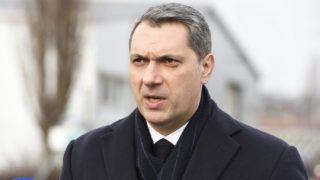 Hódmezővásárhely, 2018. január 10.Lázár János, a Miniszterelnökséget vezető miniszter a hódmezővásárhelyi ipari park bővítéséről tartott sajtótájékoztatón 2018. január 10-én. A kormány 2,6 milliárd forinttal támogatja a hódmezővásárhelyi ipari park két lépcsőben megvalósuló, összesen 96 hektáros bővítését.MTI Fotó: Kelemen Zoltán Gergely