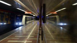 Budapest, 2017. január 11. A 2-es metróvonal Széll Kálmán téri állomása 2017. január 11-én. MTI Fotó: Máthé Zoltán