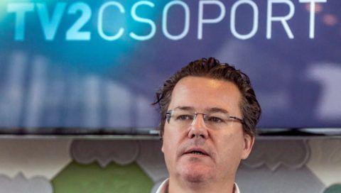 Dirk Gerkens, a TV2 vezérigazgatója. MTI Fotó: Szigetváry Zsolt