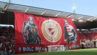 Miskolc, 2018. május 5. Molinó a labdarúgó OTP Bank Liga 29. fordulójában játszott Diósgyõri VTK - Mezõkövesd Zsóry FC mérkõzésen Miskolcon 2018. május 5-én. A Diósgyõr 1-0-ra kikapott a vendég Mezõkövesdtõl. MTI Fotó: Vajda János