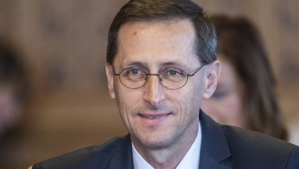 Budapest, 2018. május 15. Varga Mihály pénzügyminiszter-jelölt kinevezés elõtti meghallgatásán az Országgyûlés költségvetési bizottságának ülésén az Országházban 2018. május 15-én. MTI Fotó: Szigetváry Zsolt