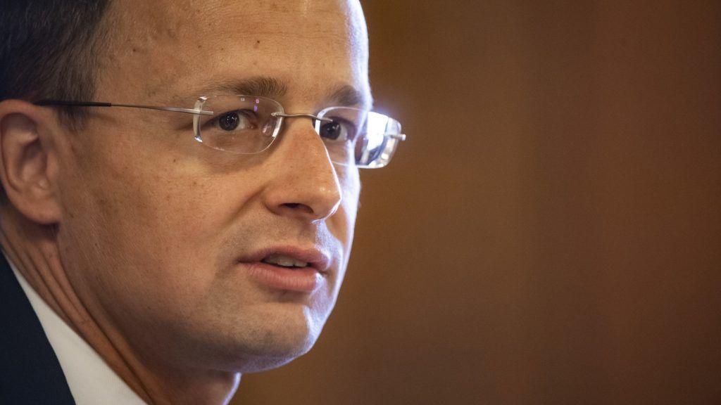 Budapest, 2018. május 15. Szijjártó Péter külgazdasági és külügyminiszter-jelölt a kinevezés elõtti meghallgatásán az Országgyûlés gazdasági bizottságának ülésén az Országházban 2018. május 15-én. MTI Fotó: Szigetváry Zsolt