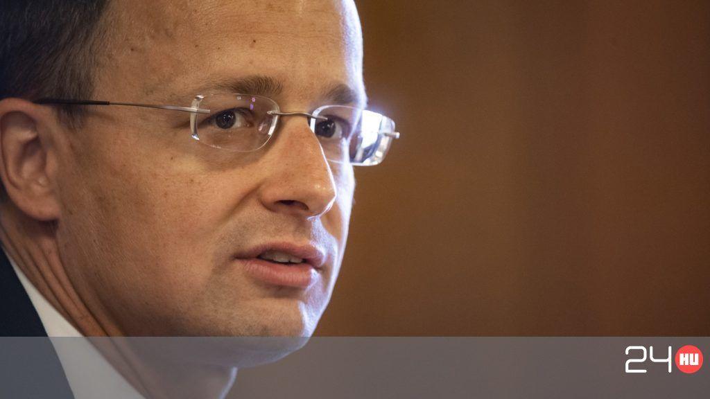 Szijjártó addig sorozta Ukrajnát, míg Porosenko megfutamodott