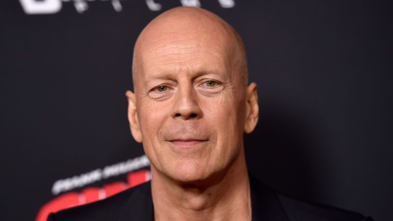 """HOLLYWOOD, CA - AUGUST 19: Actor Bruce Willis attends Premiere of Dimension Films' """"Sin City: A Dame To Kill For"""" at TCL Chinese Theatre on August 19, 2014 in Hollywood, California.  (Photo by Frazer Harrison/Getty Images)"""