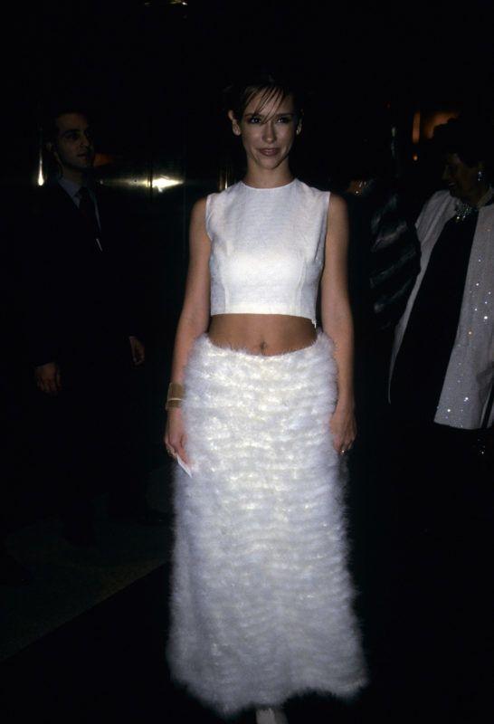 Jennifer Love Hewitt at Metropolitan Museum of Art Costume Institute Gala, New York, December 6, 1999. (Photo by Mari Sarai/Wireimage)