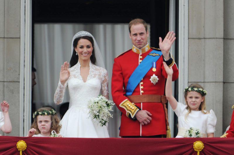 UK - Wedding of Prince William & Kate Middleton - Buckingham Palace (Photo by Stephane Cardinale/Corbis via Getty Images)
