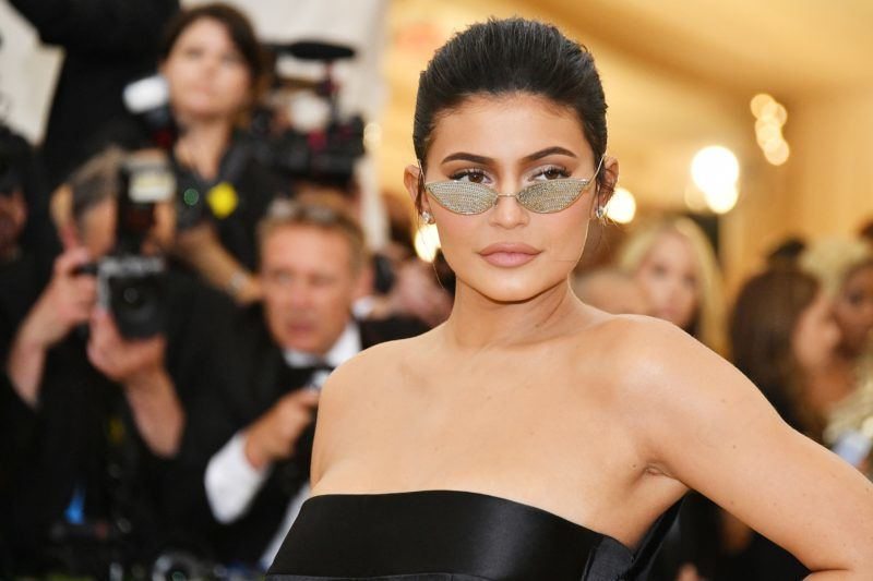 NEW YORK, NY - MAY 07:  Kylie Jenner attends the Heavenly Bodies: Fashion & The Catholic Imagination Costume Institute Gala at The Metropolitan Museum of Art on May 7, 2018 in New York City.  (Photo by Dia Dipasupil/WireImage)